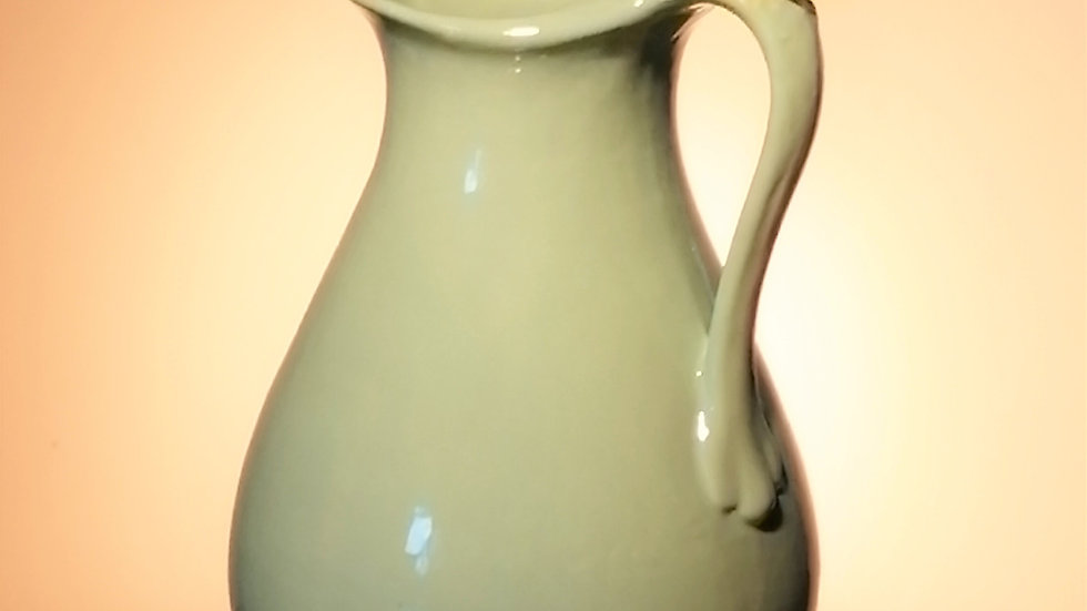 pale jade jug for flowers
