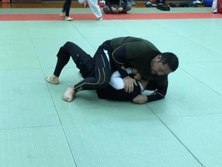 柔術の練習