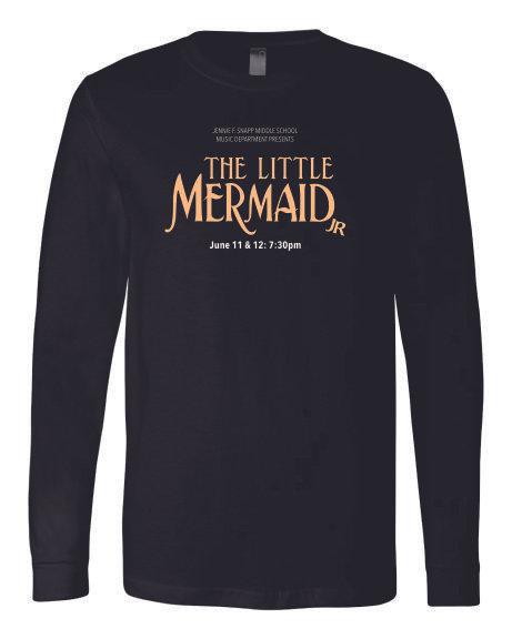 The Little Mermaid Long Sleeve Tshirt