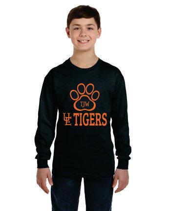 TJW UE Tigers Long Sleeve T-Shirt