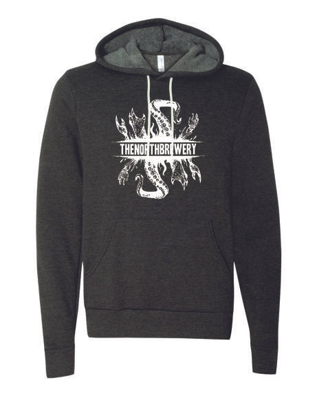 North Brewery Logo Sponge Fleece Hoodie