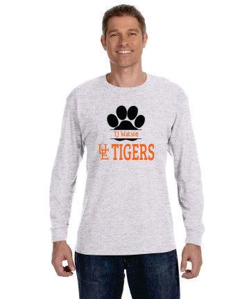 TJ Watson UE Tigers Long Sleeve T-Shirt