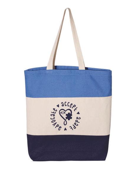 Advocate - Accept - Adapt AWA Tote Bag