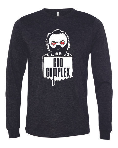 North Brewery God Complex Mask Long Sleeve Shirt