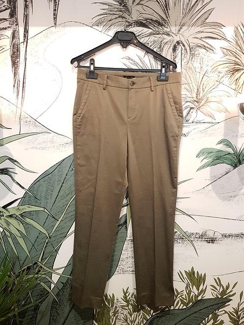 Pantalon Chino Kaki MASSIMO DUTTI Taille 38