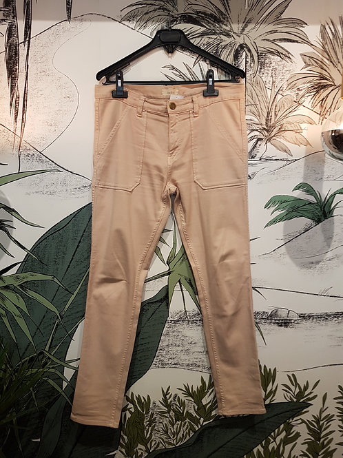 Pantalon rose poudré BA&SH Taille S