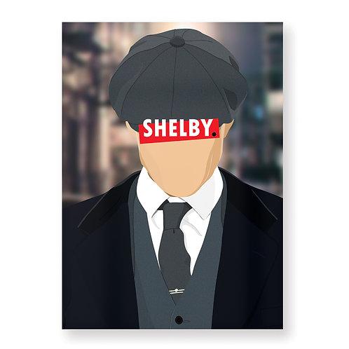 SHELBY Affiche Illustrée