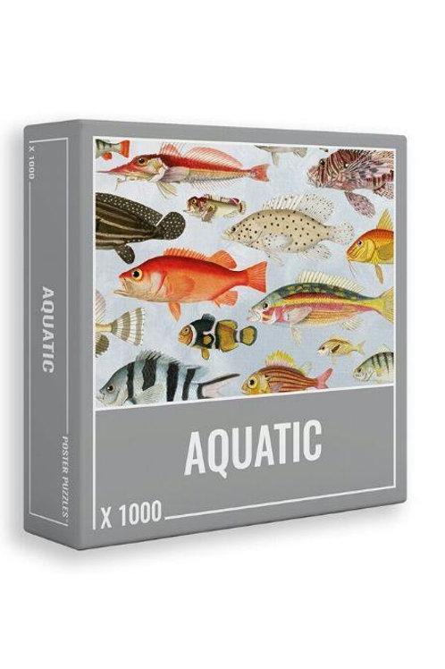 Puzzle 1000 pièces AQUATIC (8 ans et+)