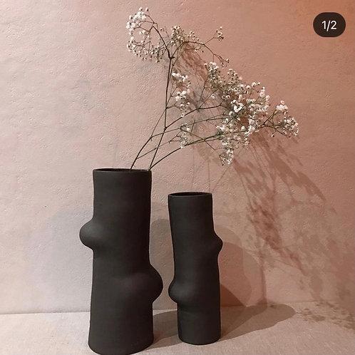 Vase Céramique en Grès Brut, émaillé en interieur par TATALU