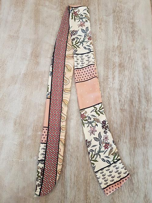 Turban, foulard, ceinture éco-responsable Modèle Luce