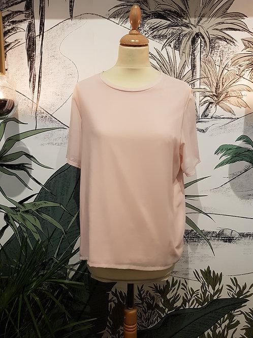 T-shirt rose pâle ASOS Taille 38/40