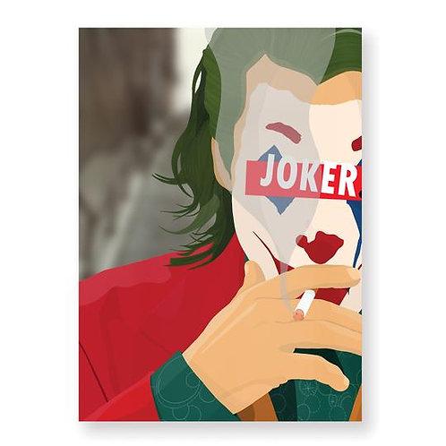 LE JOKER Affiche Illustrée par HUGOLOPPI