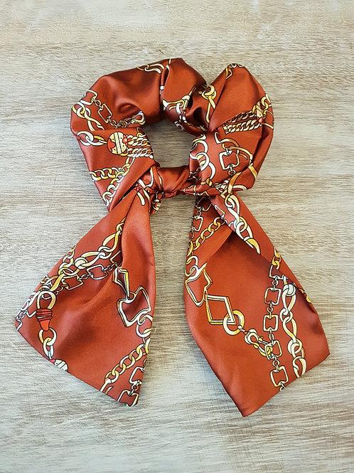 Chouchou foulard éco-responsable Modèle Myriam