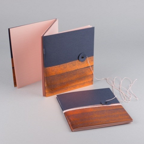 Notebook à double volet Hot Copper by MUS