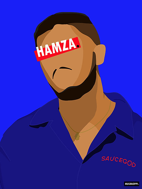 HAMZA Affiche Illustrée              ▲par HUGOLOPPI▲