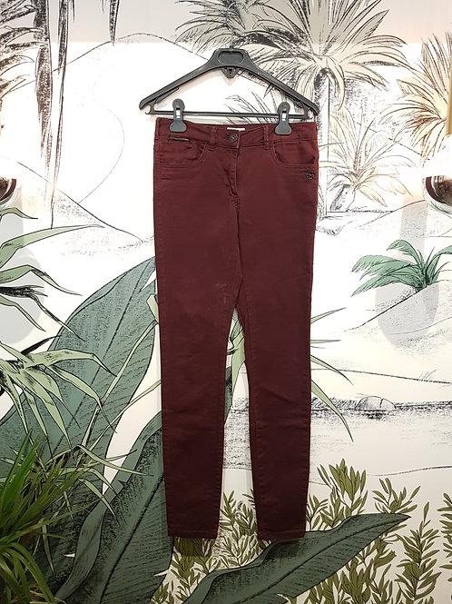 Jeans slim bordeaux MAISON SCOTCH Taille 36