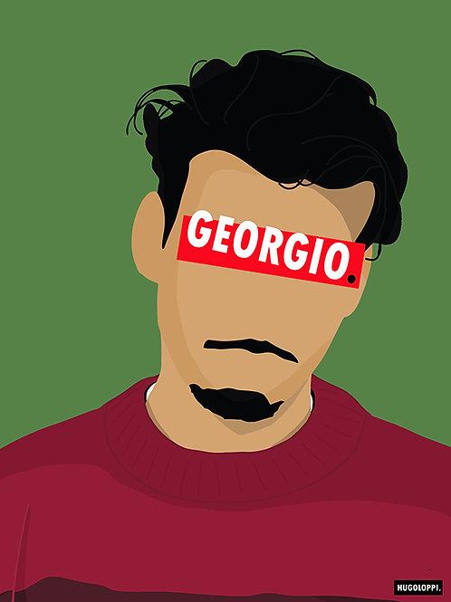 GEORGIO Affiche Illustrée                             ▲par HUGOLOPPI▲