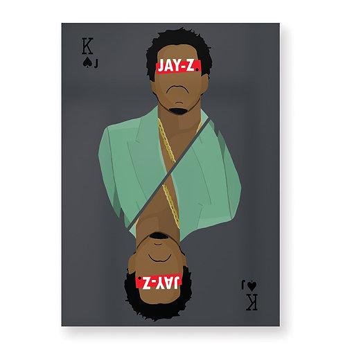 JAY-Z Affiche Illustrée par HUGOLOPPI