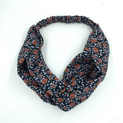 HeadBands en Tissu Imprimé Recyclé par Lou & Scrunchies