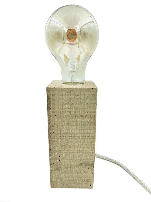 Lampe à poser Bois Massif & Ampoule              ▲DBT Création▲
