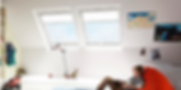 velux top hung roof window benefit of natural lighting