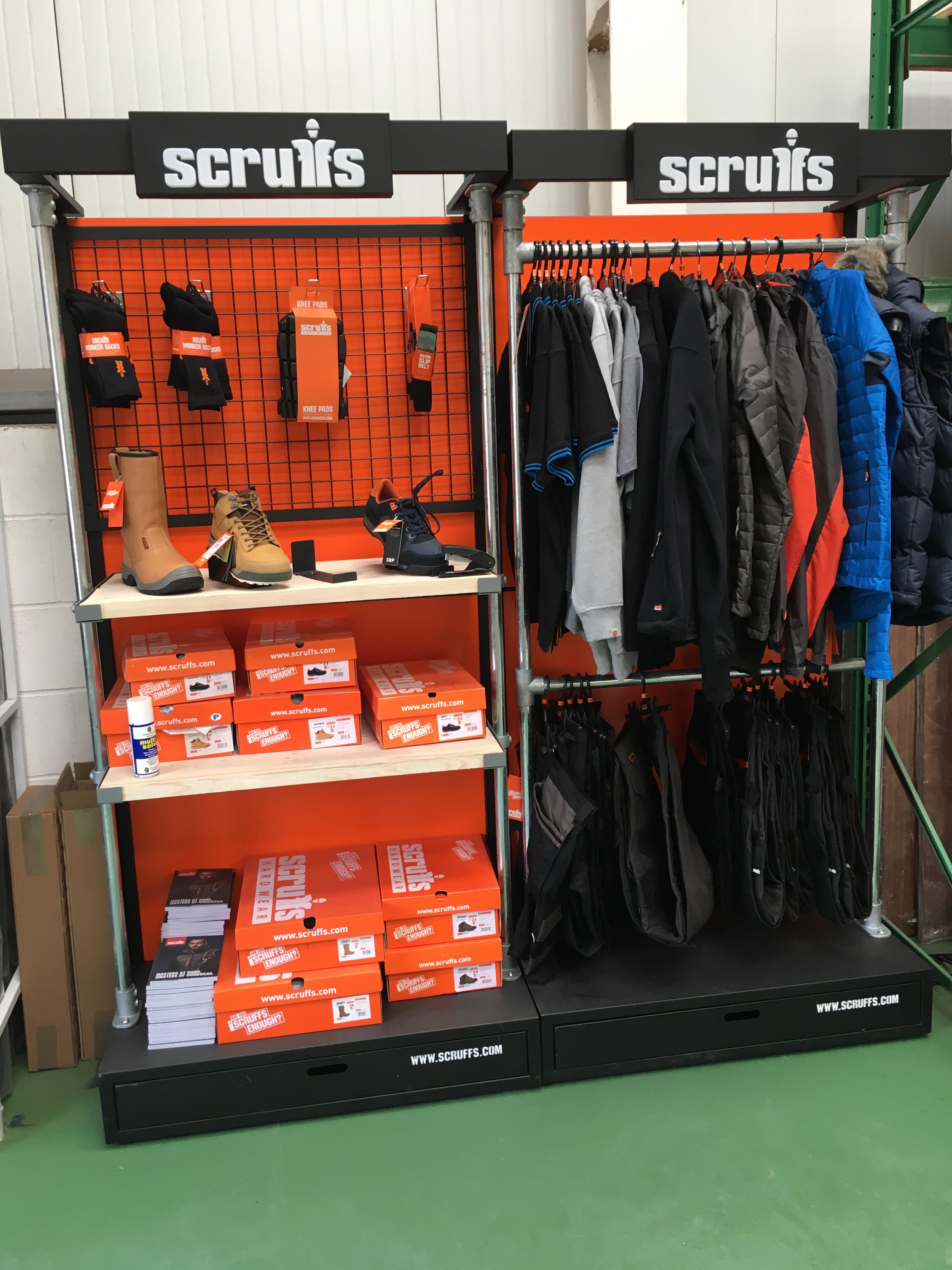 Scruffs Workwear Showroom