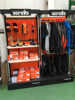 Scruffs Workwear Showroom