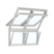 velux combining roof windows