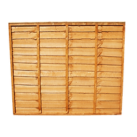 waney fence panel