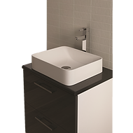 bathroom sink and drawers