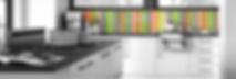 mazan bespoke RAL colour splashback