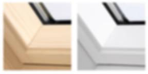 velux cabrio internal finish and glazing options