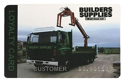 builders supplies west coast loyalty card