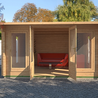 Log Cabins Relax In Style In Your Garden