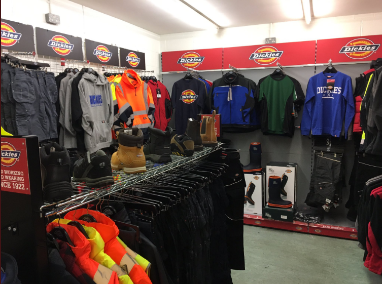 Dickies Workwear Showroom