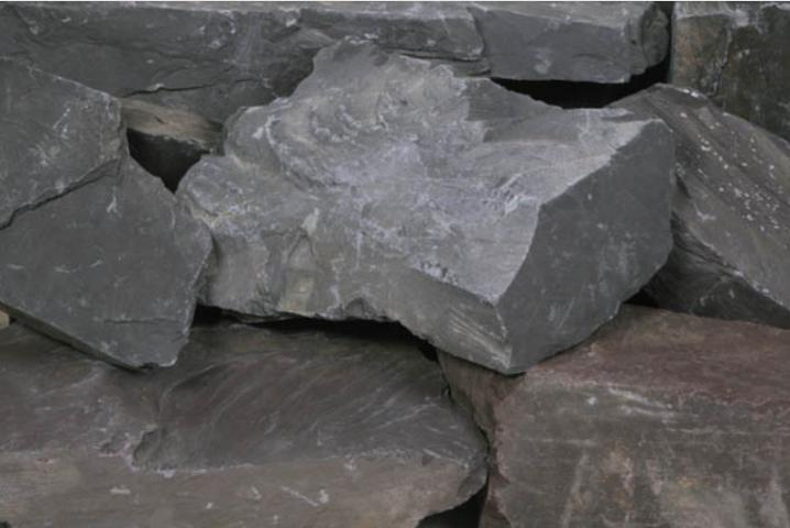 Plumb Slate Rockery