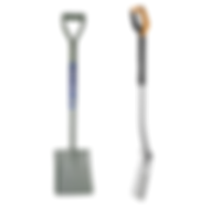 spades and shovels