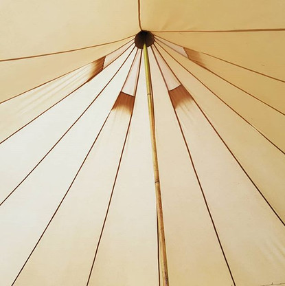 Tents are pitched up. Retreat _bluegreen