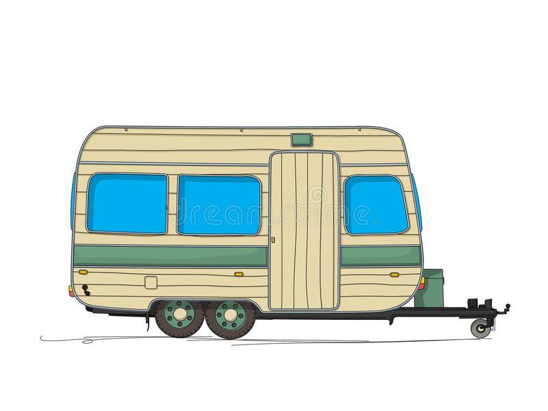caravan-cartoon-drawing-against-white-ba