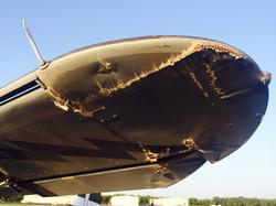 left wingtip & aileron