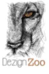 Lioness sketch logo
