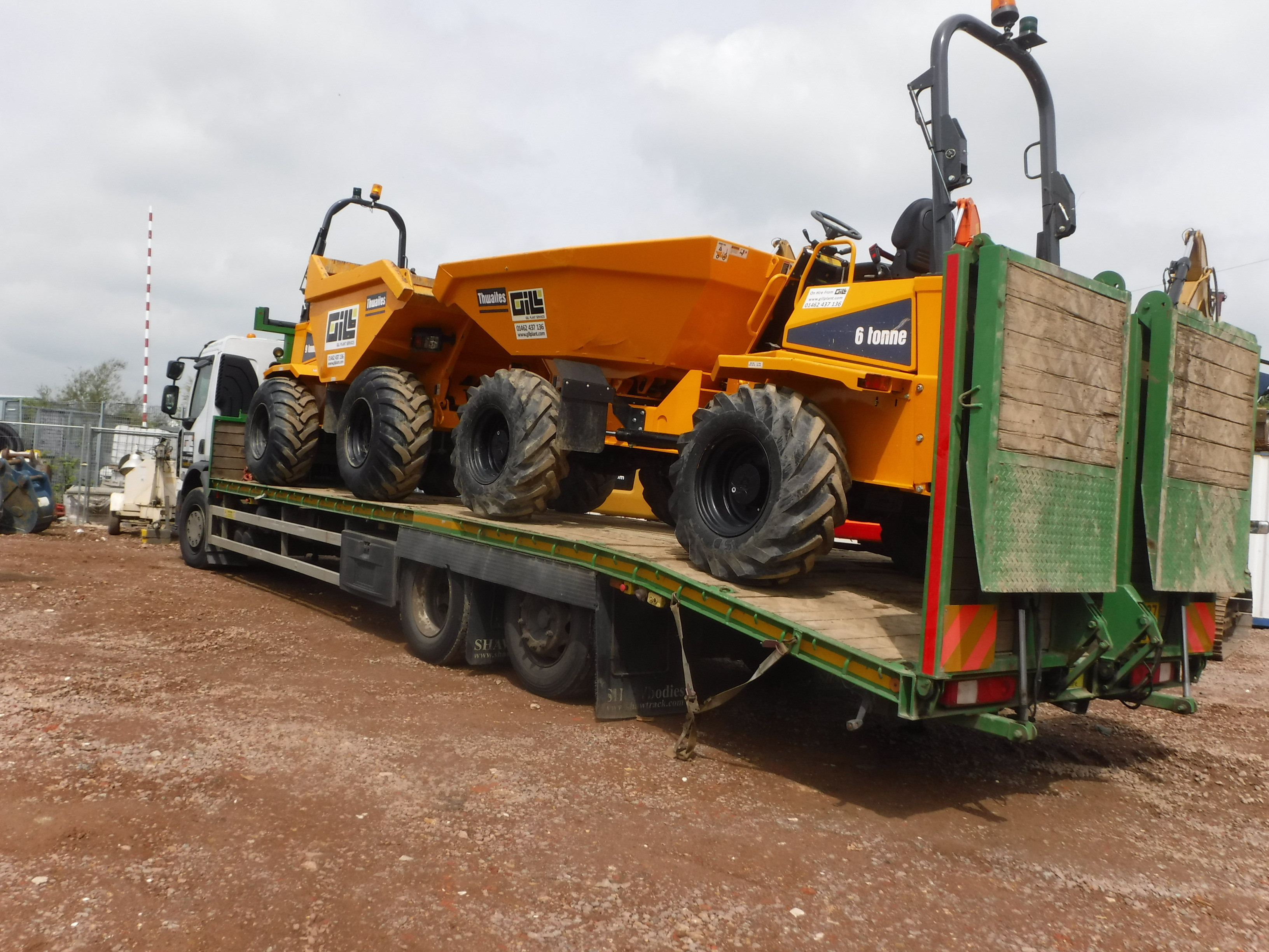 Gill Plant Machinery Transport