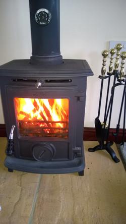 Aga woodburner