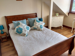 Bedroom one, Double sleigh bed