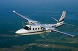 Twin Engine Turbo Commander Flying