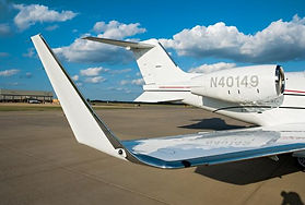 Wing and Fuselage of Learjet