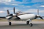 Multi Engine Baron airplane