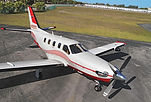 Single Engine Turbo Prop Airplane