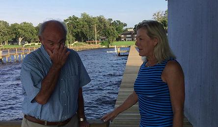 Richard Dostie talks to Karen about our work.