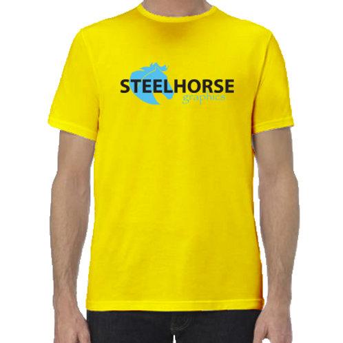 Steelhorse Graphics Brand w Solid Horse Logo